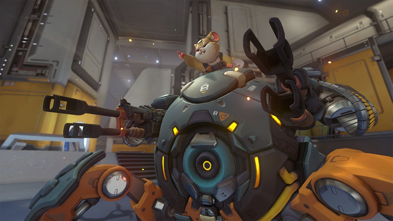 Overwatch Hammond Wrecking Ball charge