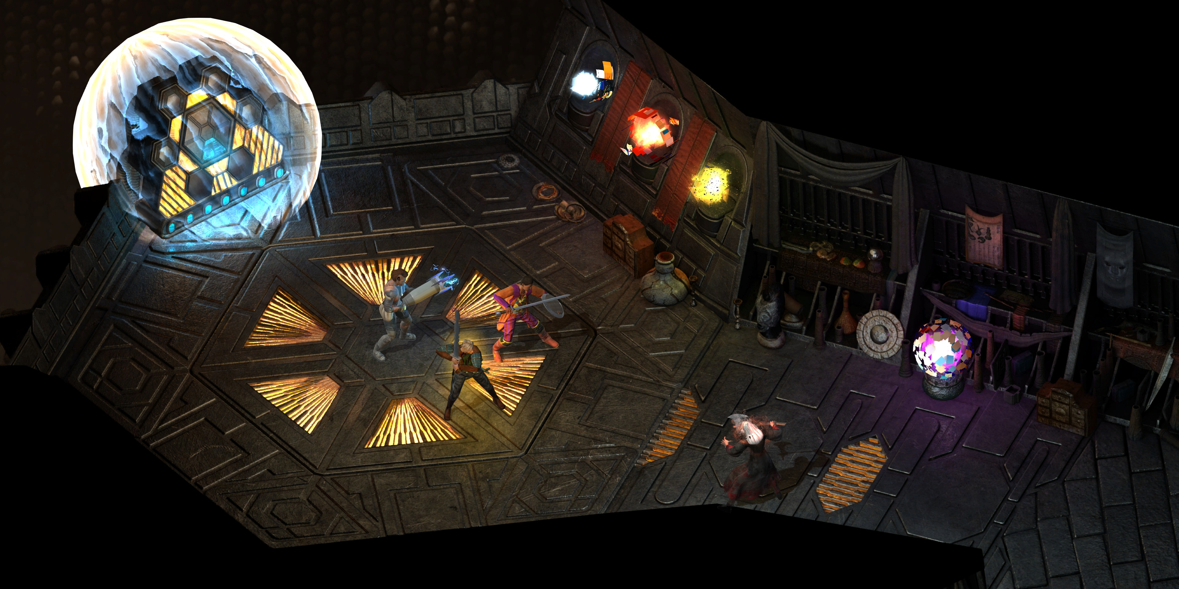 This type of isometric CRPG was all but dead before crowdfunding.