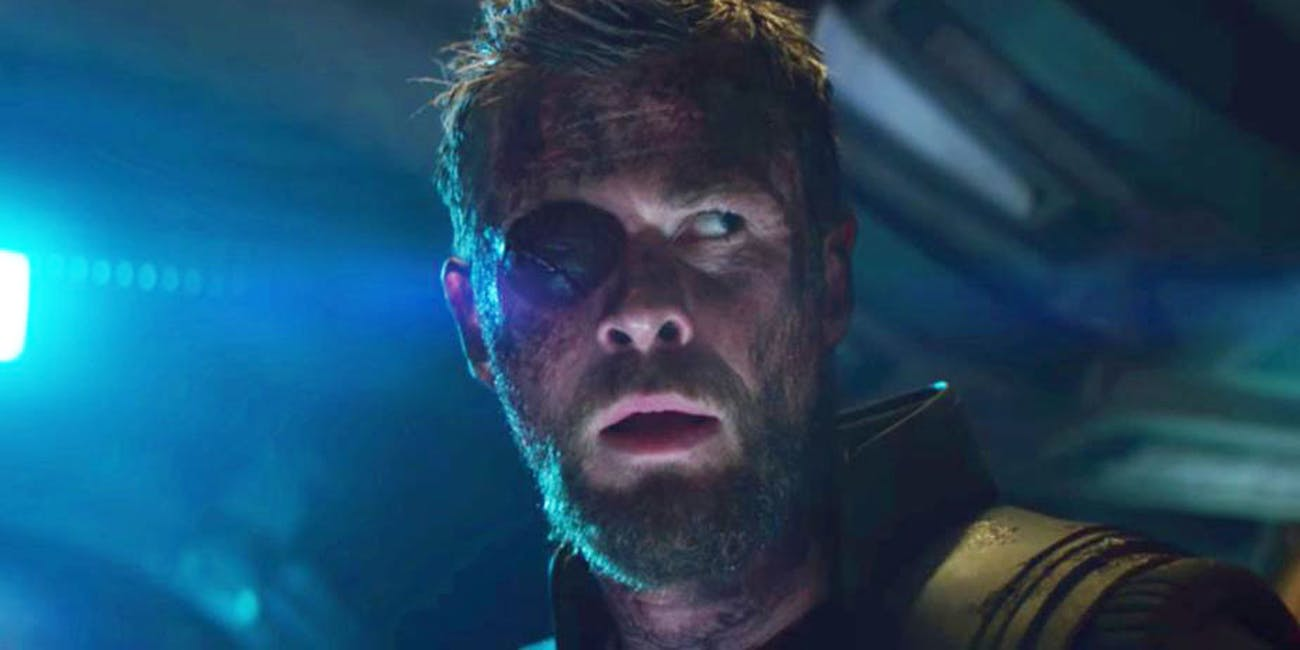 Infinity War Star Explains Whats Up With Thors Eyepatch Inverse