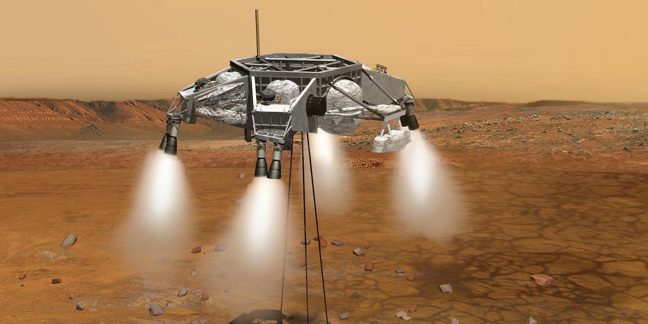 NASA Mars Colony