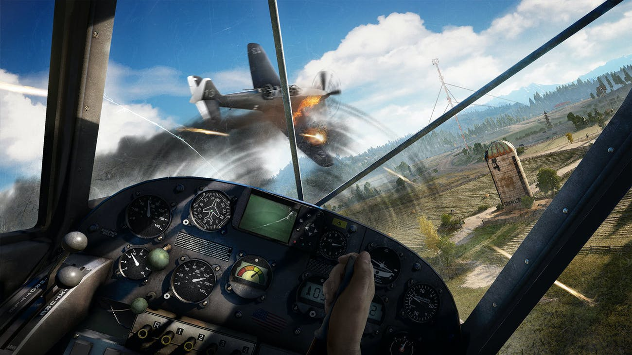 Far Cry 5 Plane Vehicle Dogfight