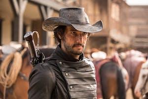 Rodrigo Santoro as Hector Escaton in HBO's 'Westworld'.