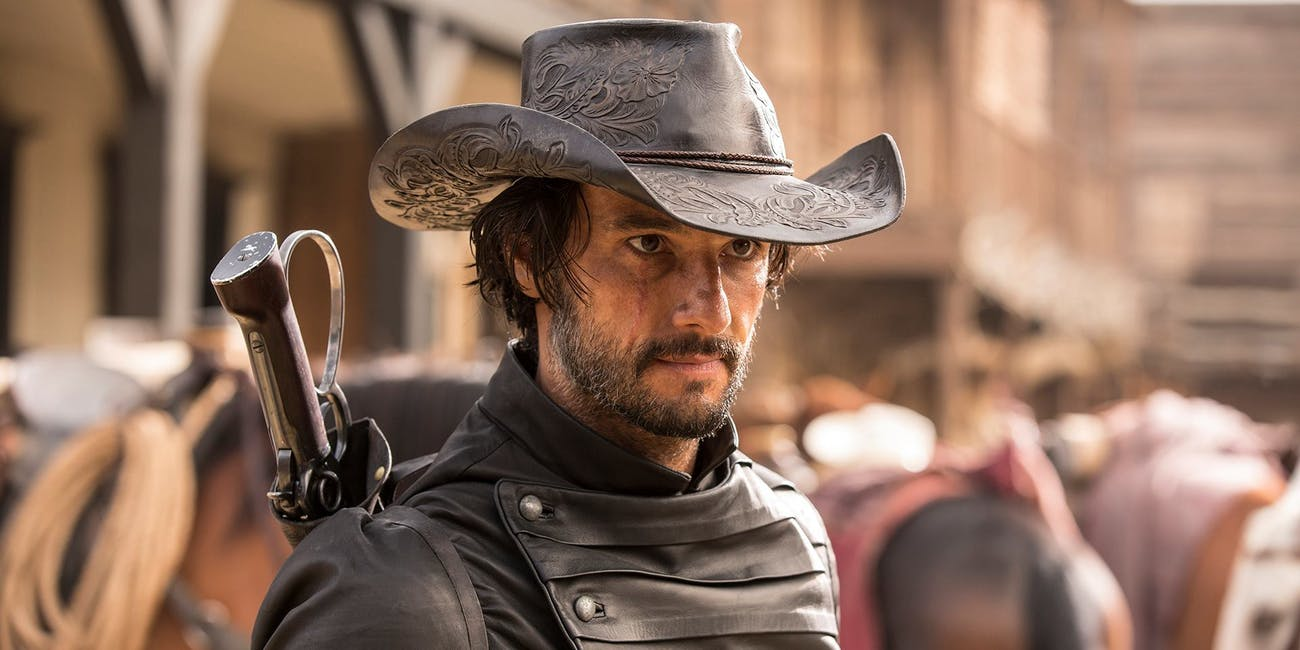 Rodrigo Santoro as Hector Escaton in HBO's 'Westworld'.