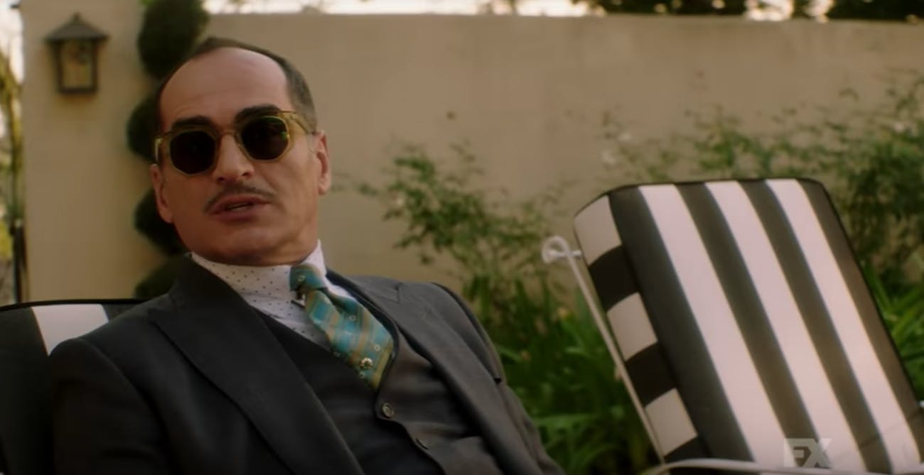 Navid Negahban plays a new bodily form of the Shadow King, but is this Amahl Farouk's original body?