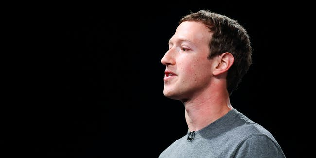 Founder and CEO of Facebook Mark Zuckerber gives his speach during the presentation of the new Samsung Galaxy S7 and Samsung Galaxy S7 edge on February 21, 2016 in Barcelona, Spain.