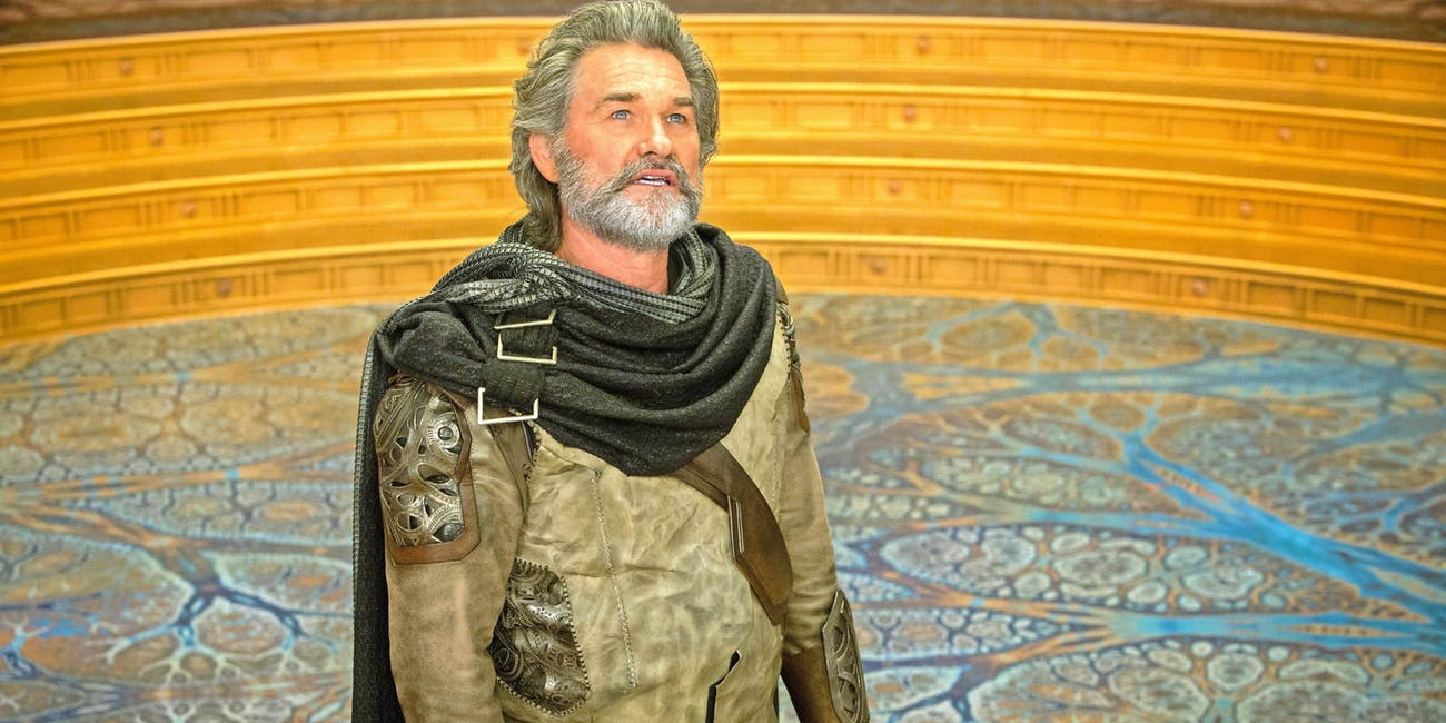 Kurt Russell as Ego the Living Planet in 'Guardians of the Galaxy 2'