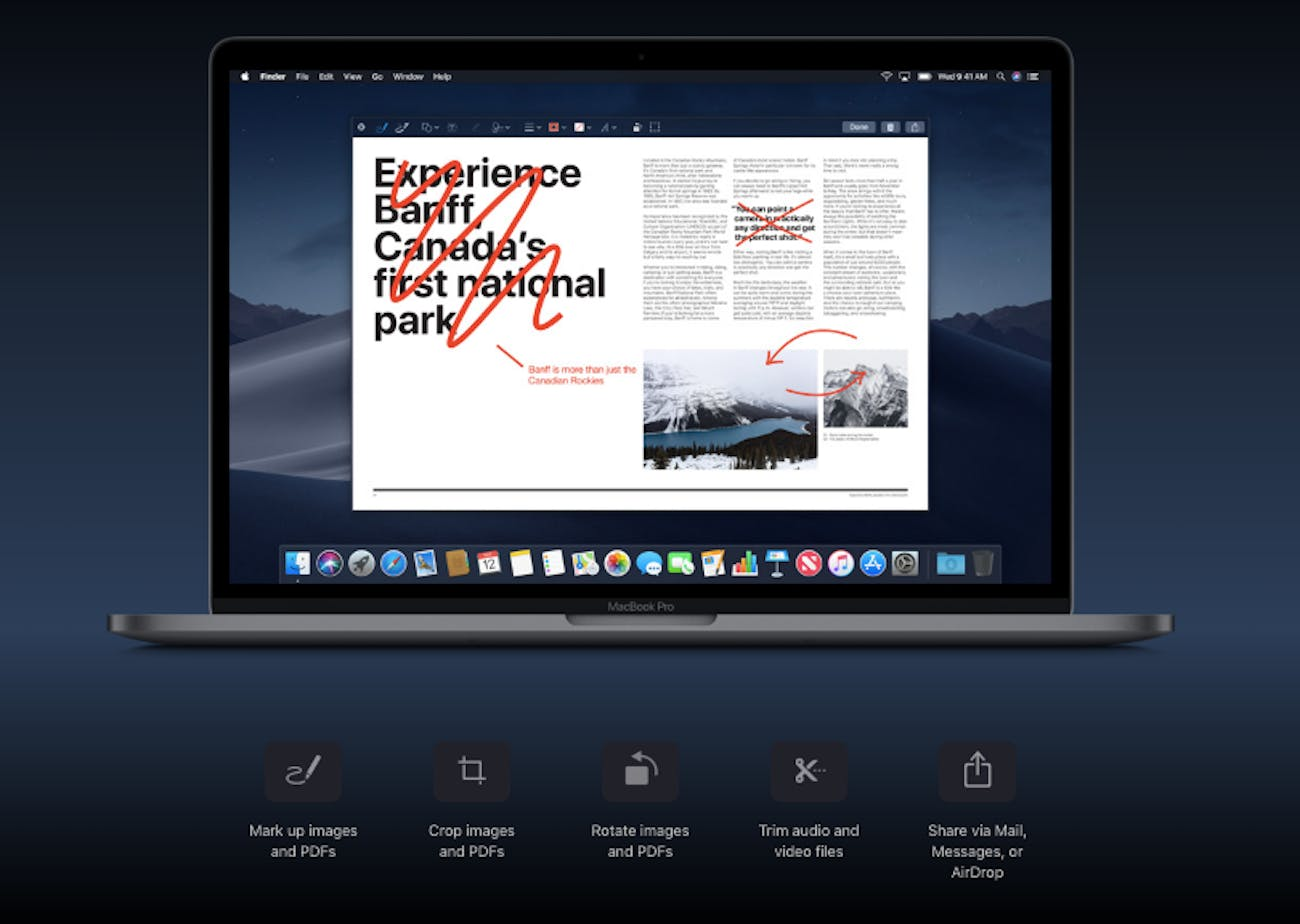 MacOS Mojave: 5 Yearned-for Productivity Features That