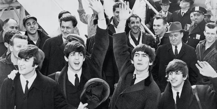 The Beatles John Lennon Paul McCartney George Harrison Ringo Starr
