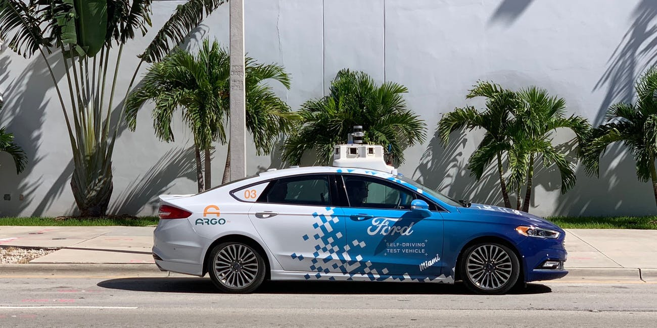 Ford Argo Self Driving Car