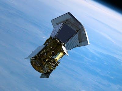parker solar probe rendering