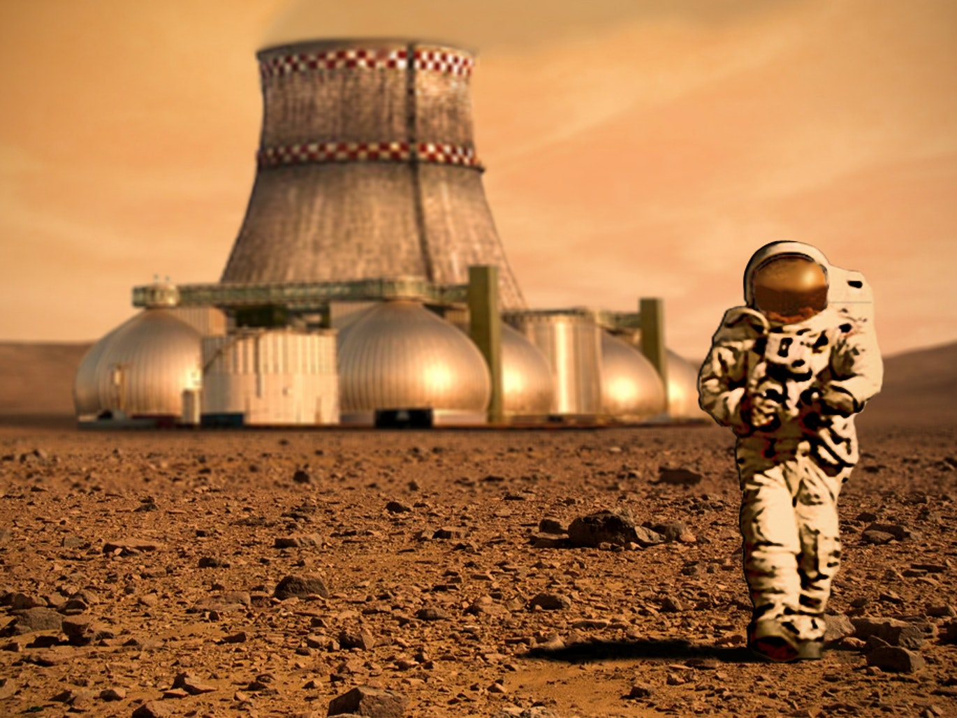 NASA is Looking Into 3D Printing Homes for People on Mars