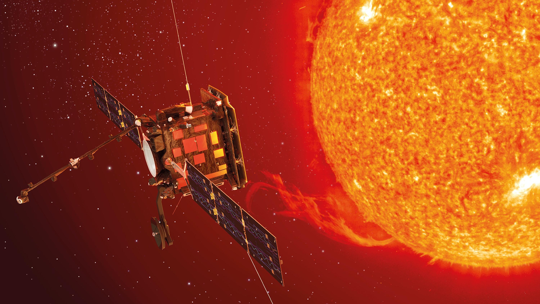 Artist's depiction of the Solar Orbiter.