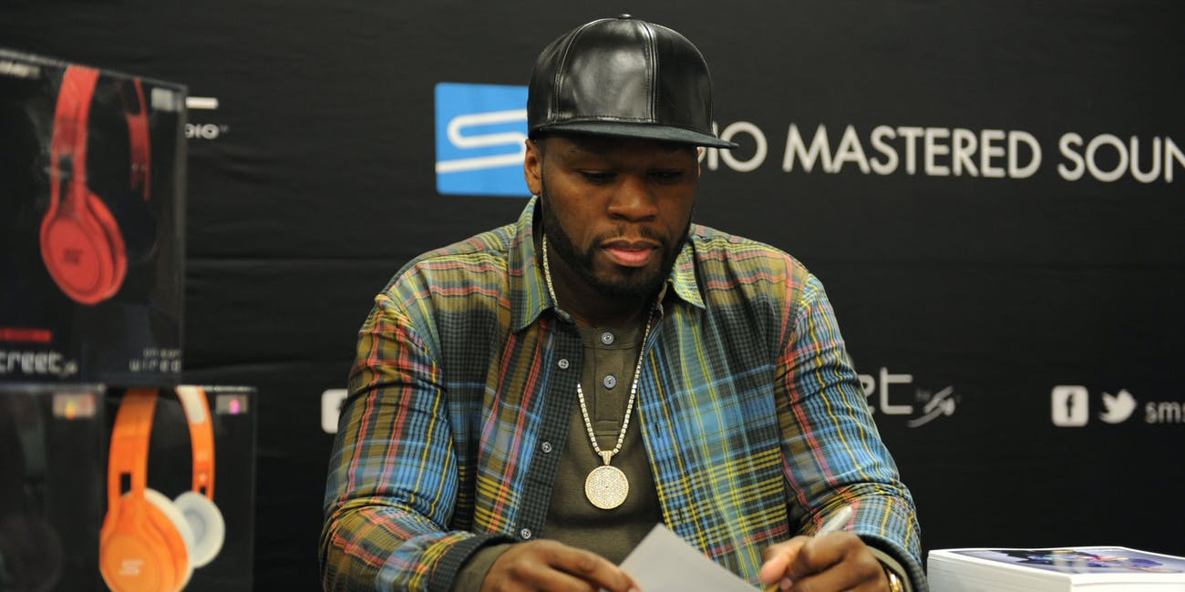 50 Cent at TigerDirect