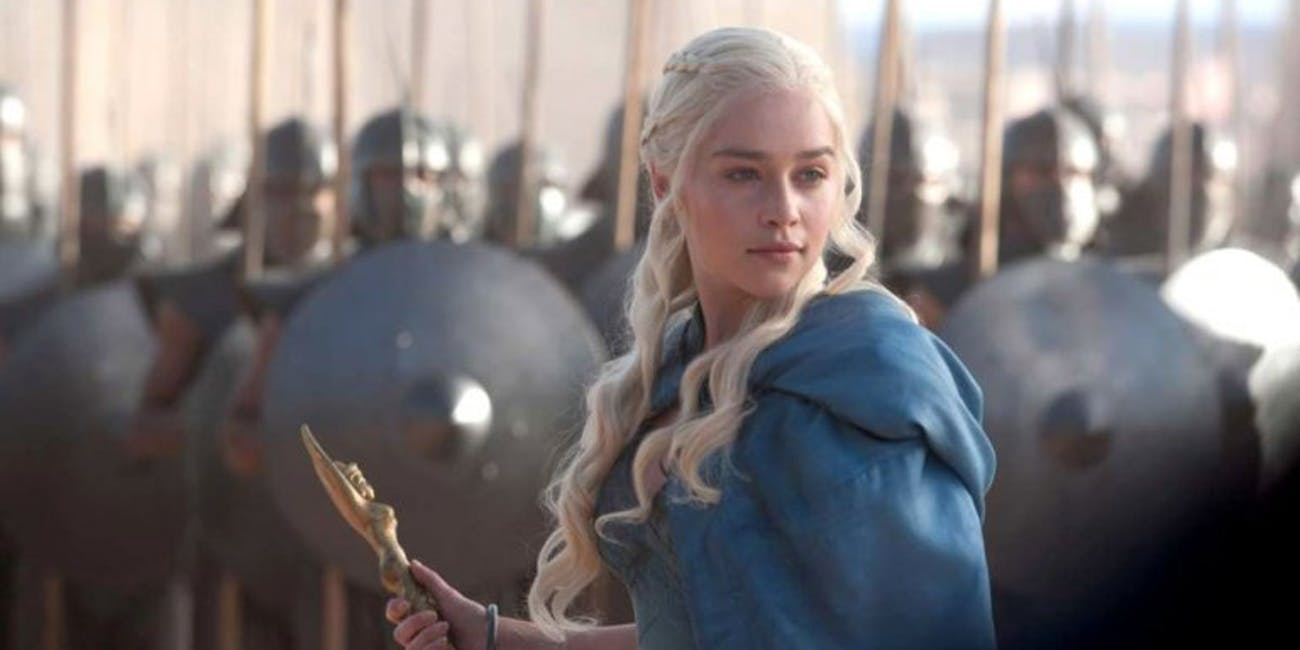 Daenerys in 'Game of Thrones' Season 3