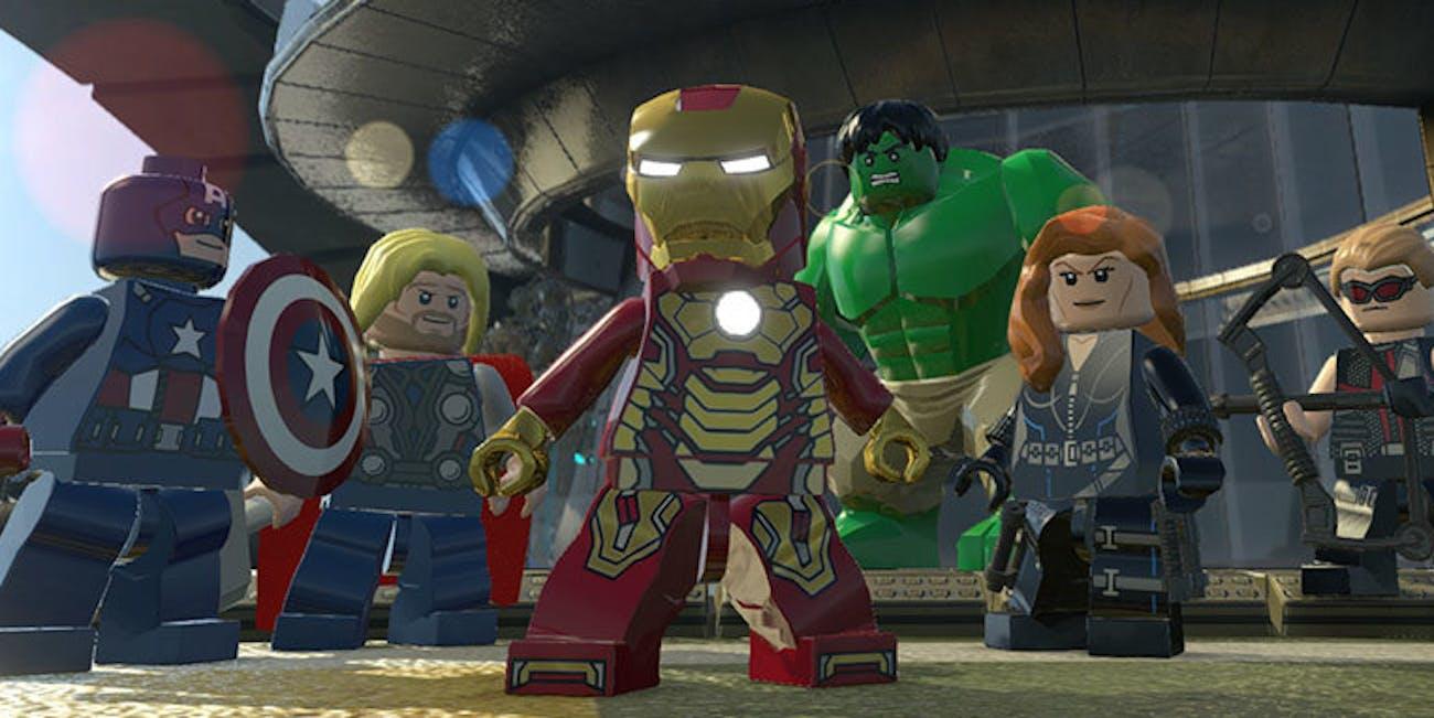 Screenshot Lego Marvel Superheroes Video Game