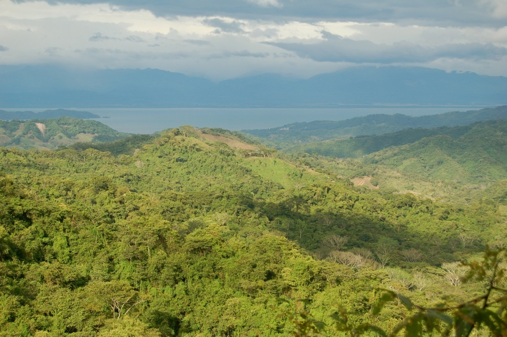View on a hike near Cerro Escondido Lodge, Nicoya Peninsula