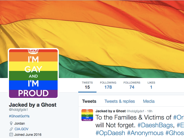A Hacker Replaced 200 ISIS Twitter Accounts With Links to Gay Porn