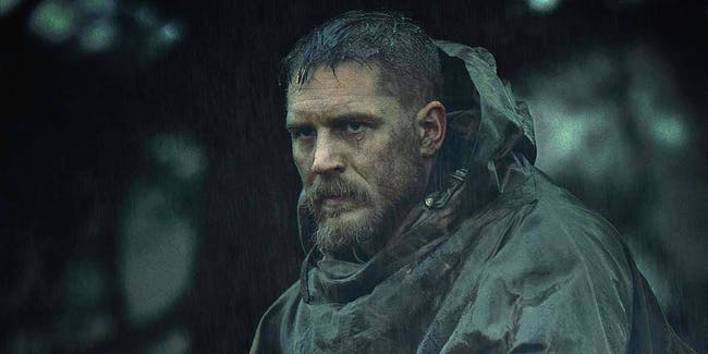 Tom Hardy in his crazy new FX show Taboo