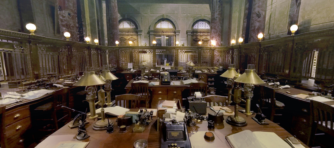 Google Maps view of 'Fantastic Beasts'