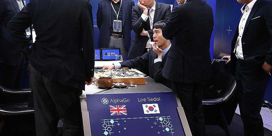 SEOUL, SOUTH KOREA - MARCH 15: AlphaGO is  probably the most advanced example of deep learning AI, but even AlphaGO is just a tool made for a single purpose.