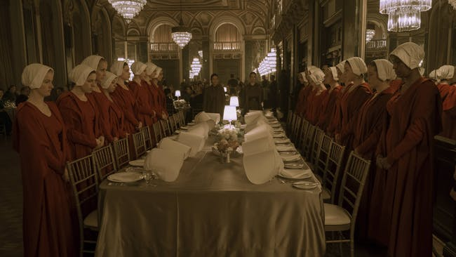 "The banquet scene in ""A Woman's Place"" was eerily unsettling."
