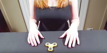 fidget spinner porn