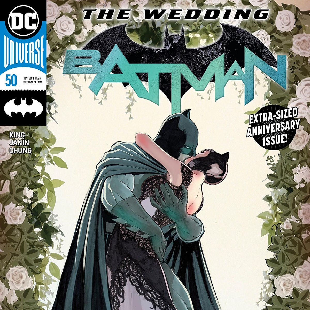 Batman and Catwoman's Wedding Spoilers: Man, What a Huge