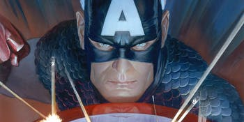 Captain America Alex Ross