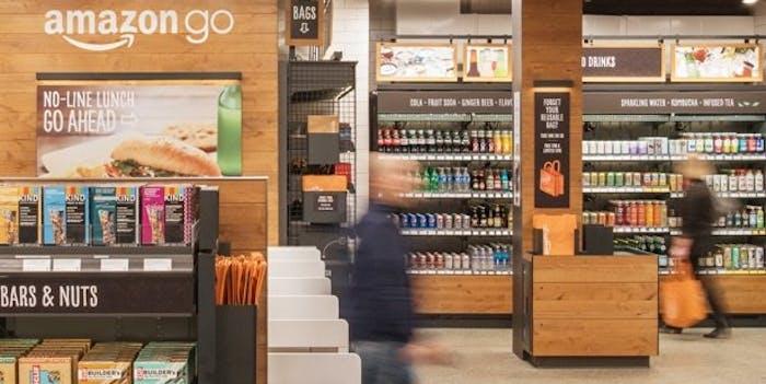 Amazon Go first public store
