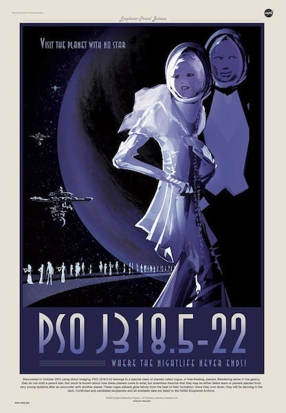 """""""PSO J318.5-22 belongs to a special class of planets called rogue, or free-floating, planets."""""""