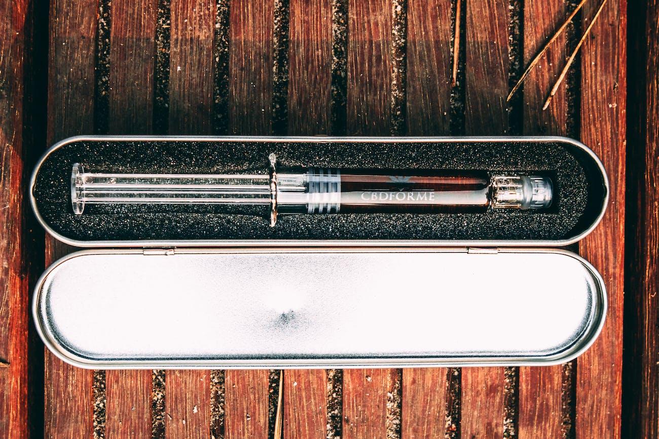 CBD Tincture, Syringe