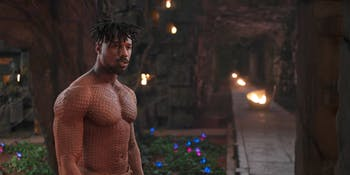 Killmonger in 'Black Panther'