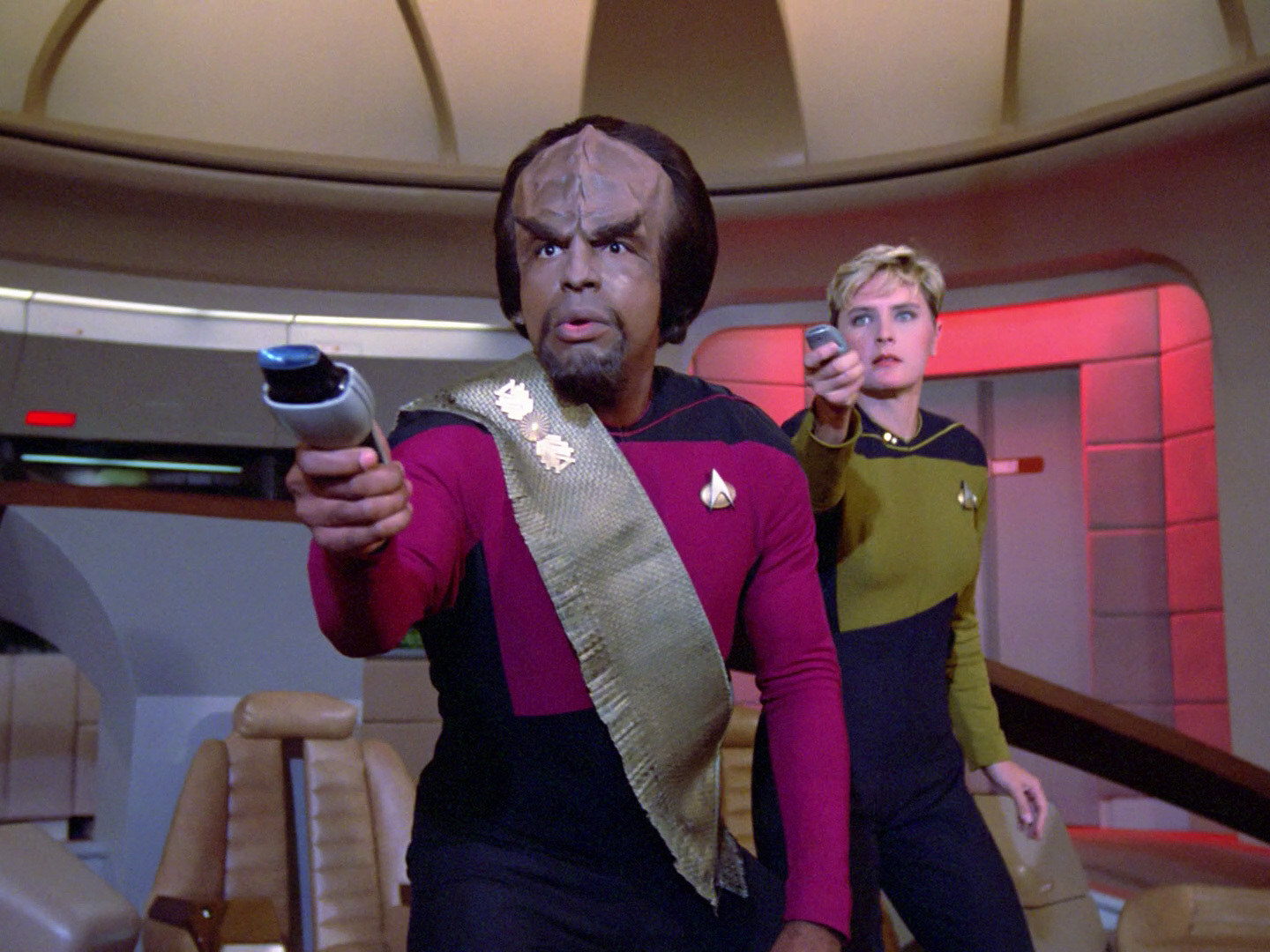 Worf got game in the 24th Century