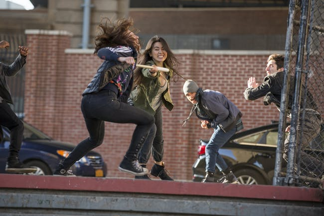Jessica Henwick spars her dogo's class as Colleen Wing in Netflix's 'Iron Fist'