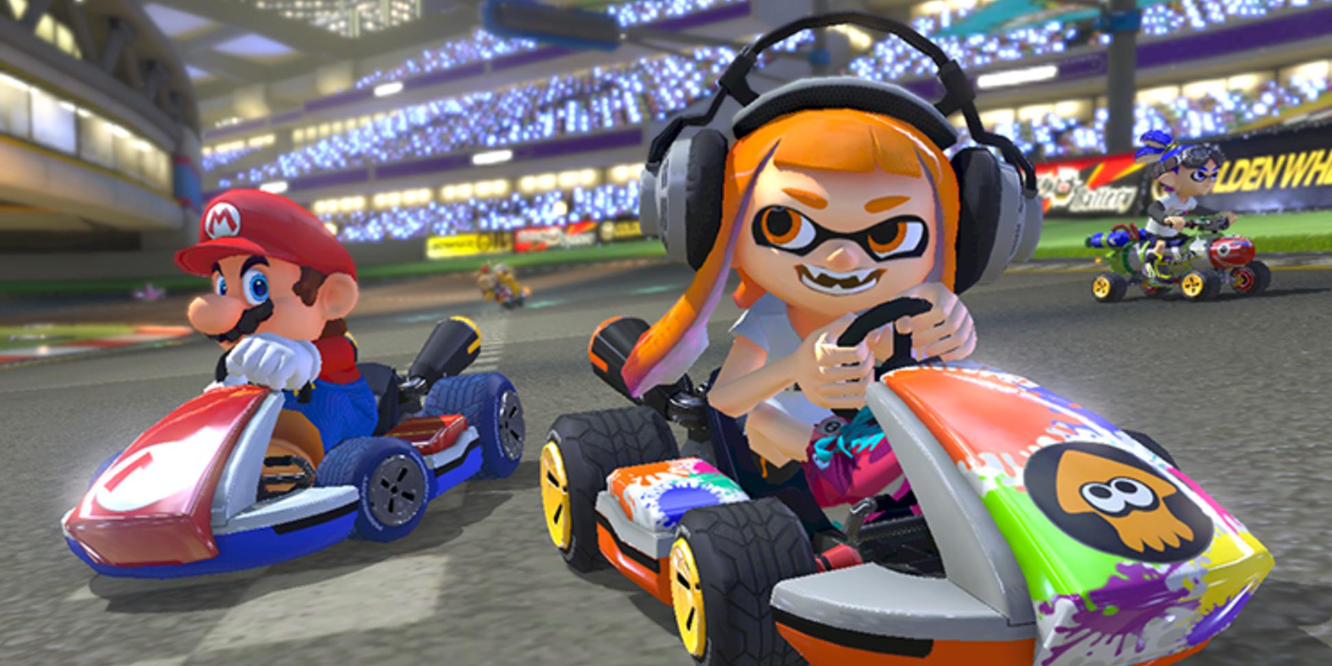 'Mario Kart 8 Deluxe'