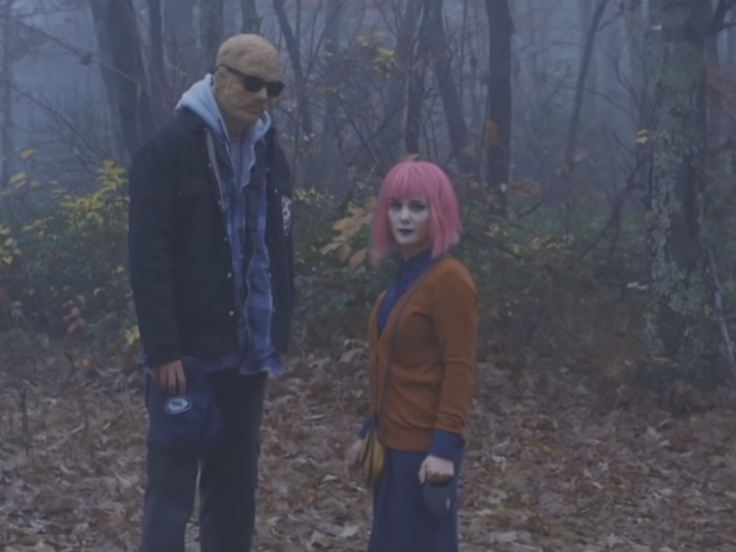 Keith Poulson and Addison Timlin in 'Little Sister'