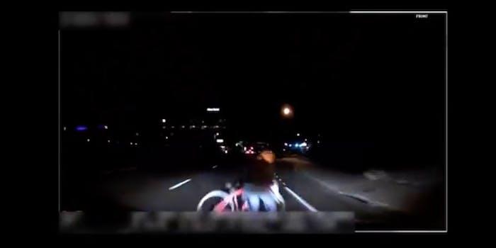 Uber autonomous car crash footage