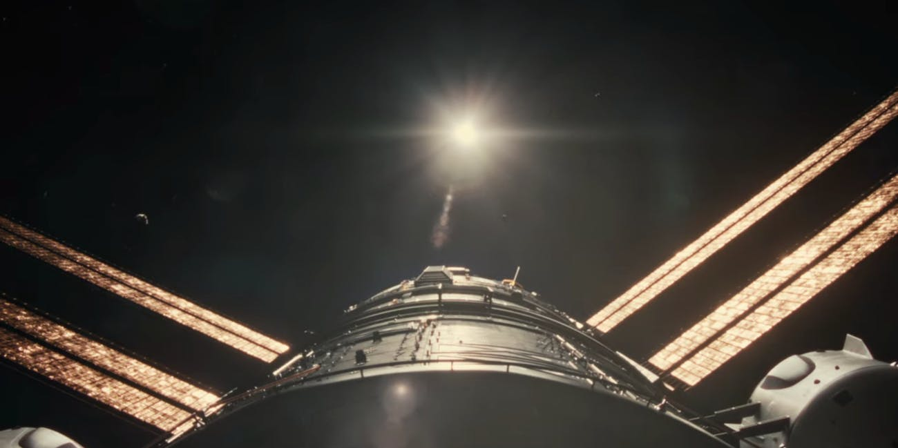 Still photo of outer space as seen in 'Ad Astra'