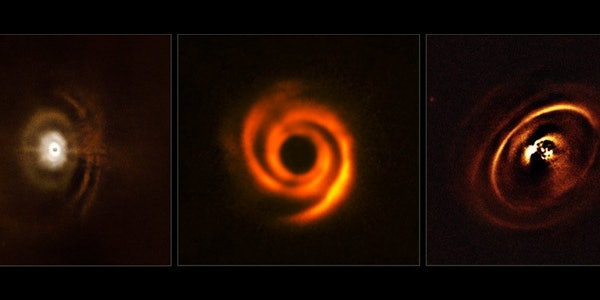 The protoplanetary discs as captured by SPHERE.