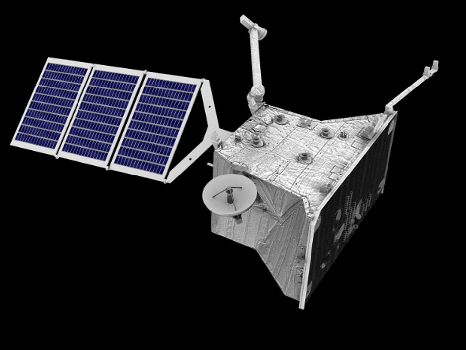 Artist impression of BepiColombo