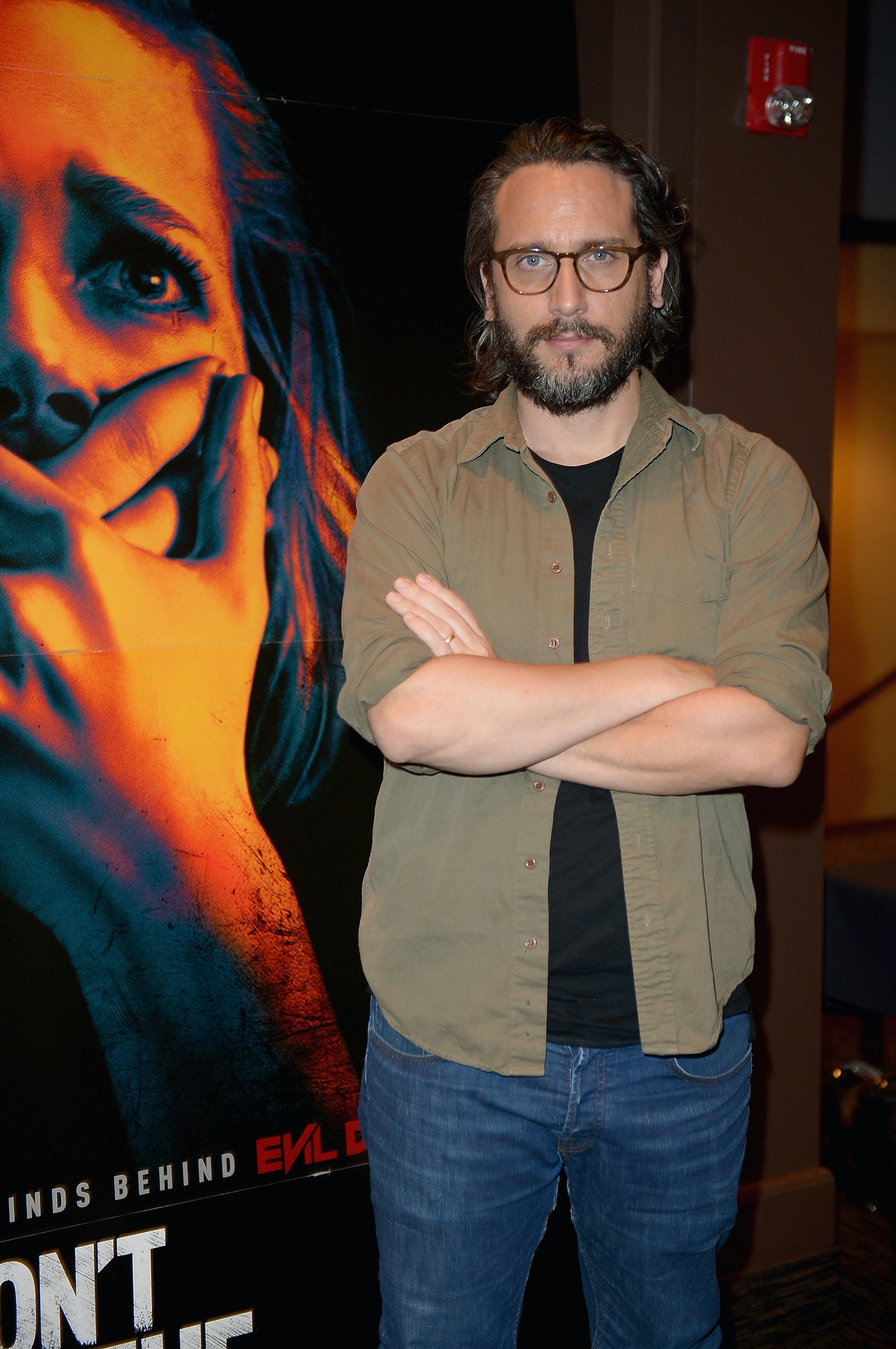 'Don't Breathe' director Fede Alvarez.