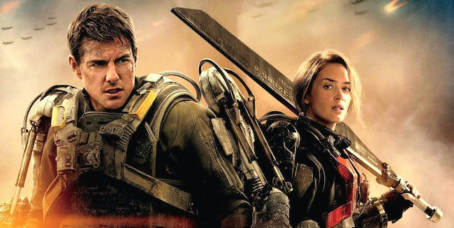 Tom Cruise and Emily Blunt -- 'Edge of Tomorrow'.