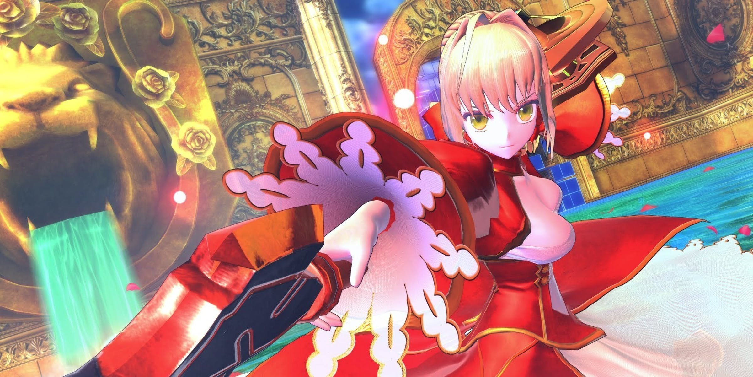 "Saber Extra from Marvelous and Type-Moon's ""Fate/Extella: The Umbral Star"""