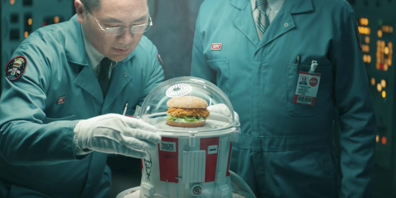 KFC's Chicken Sandwich Will Go to Space on June 21