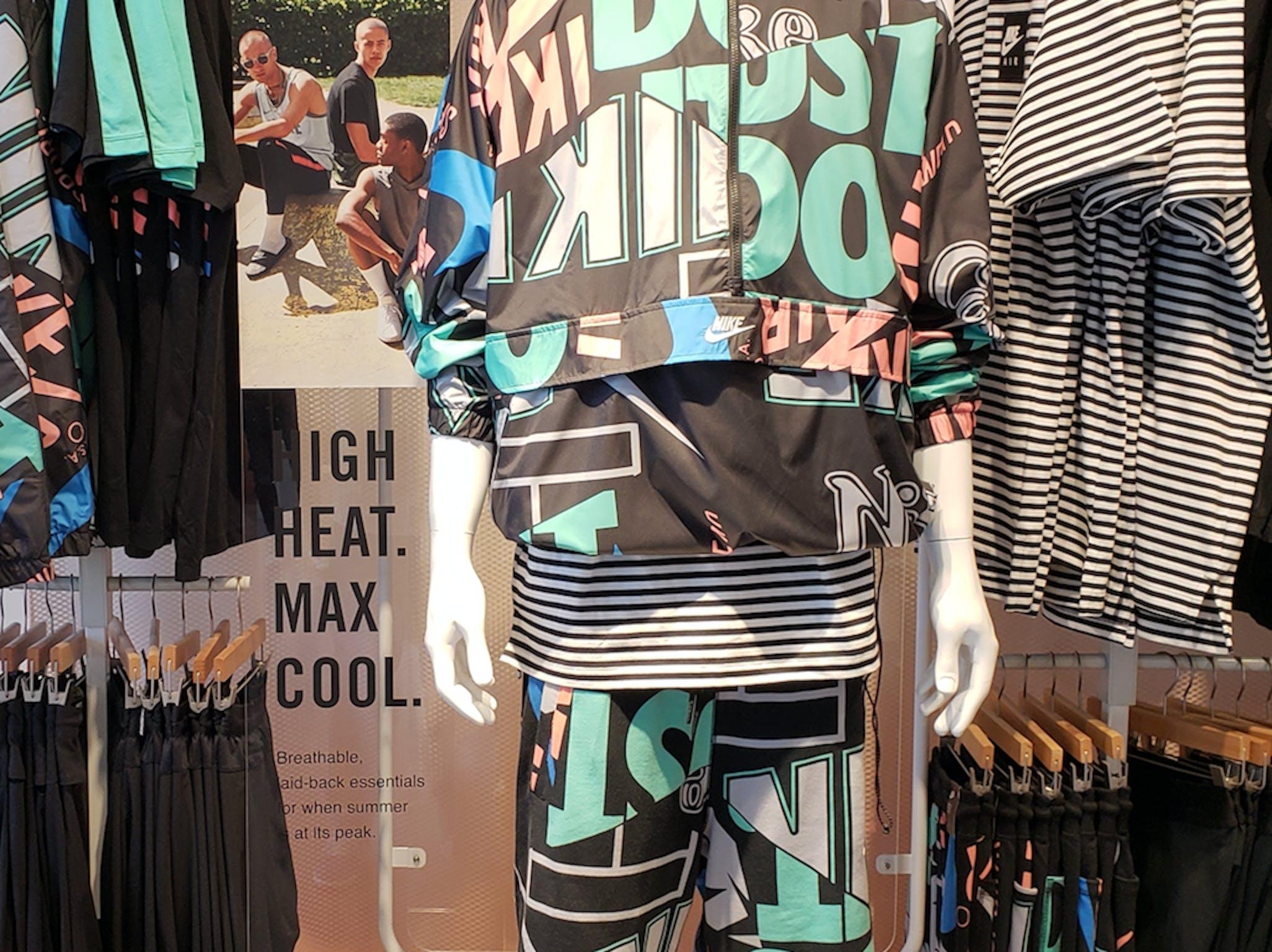 Nike bustform at Nike by Meltrose