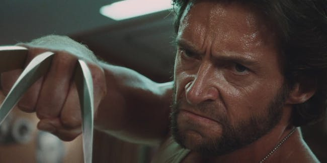 Hugh Jackman as Logan.