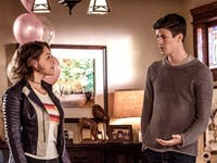 'The Flash' Season 5 Nora West-Allen and Barry Allen