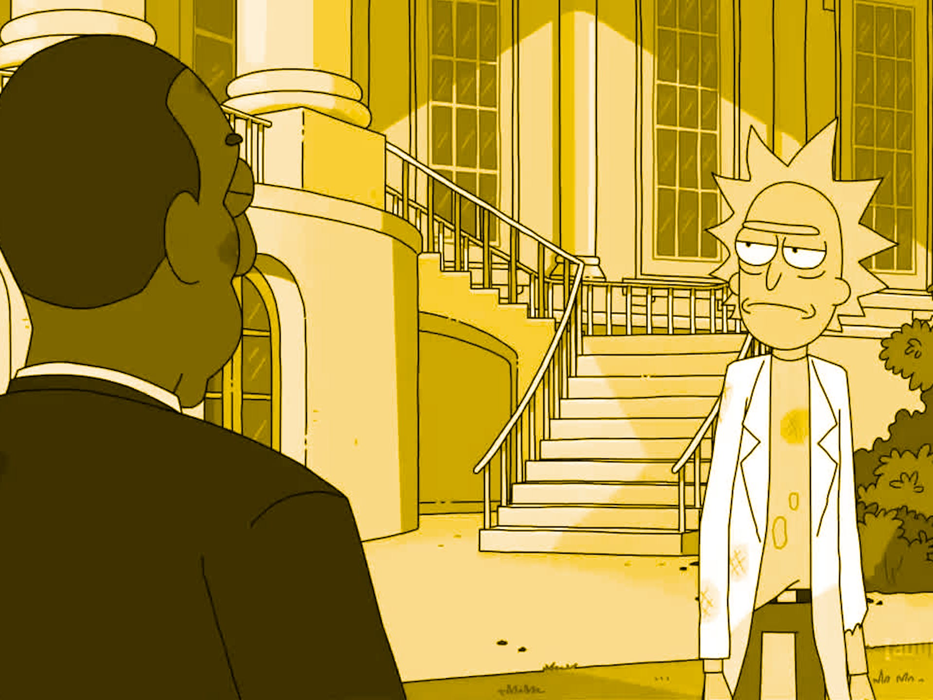 """The Rickchurian Mortydate"" 'Rick and Morty'"