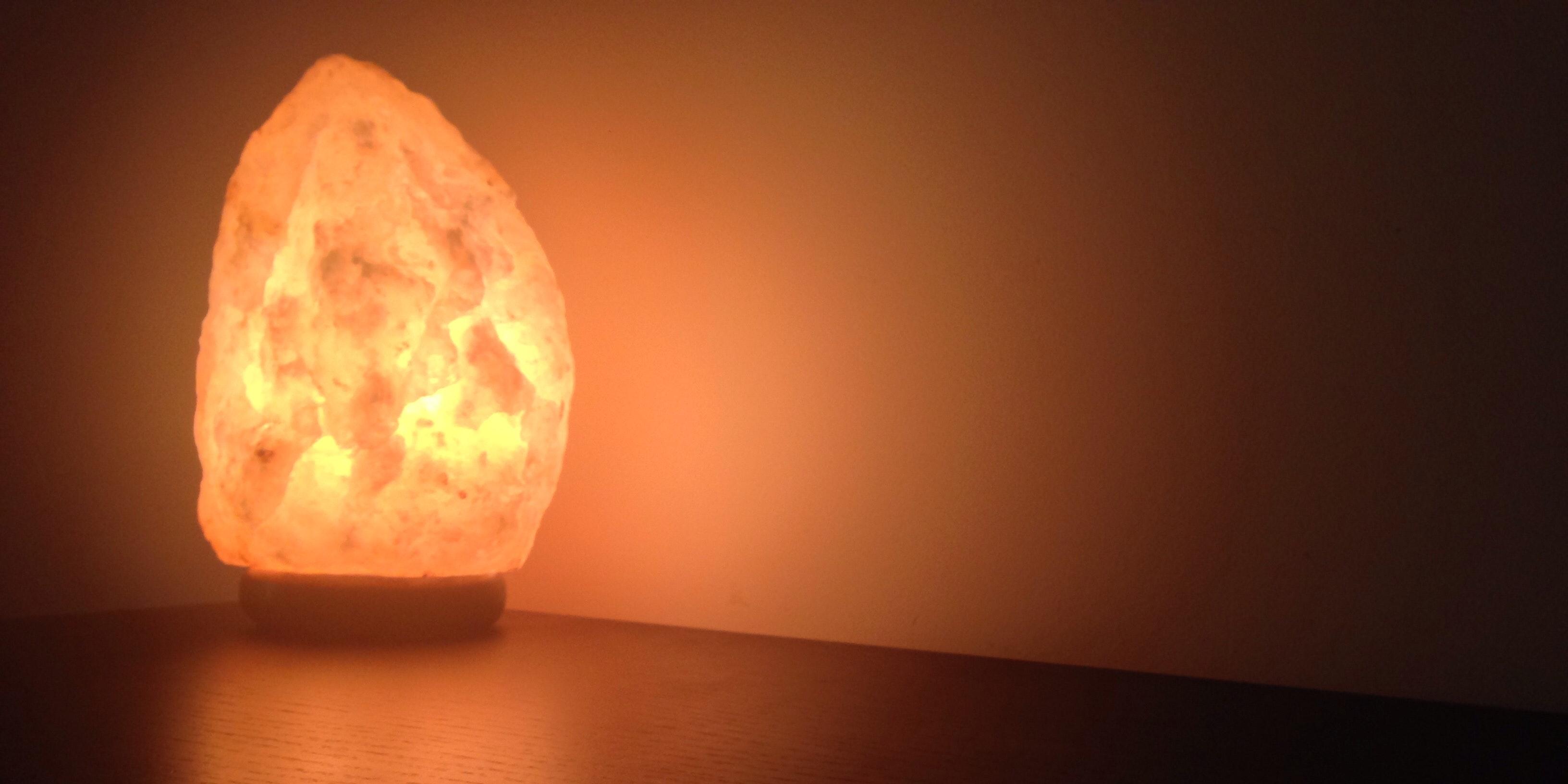Make a Himalayan Salt Lamp