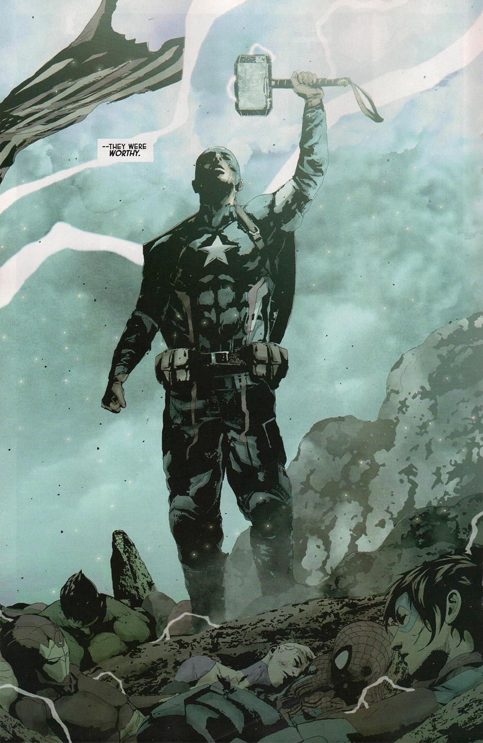 【娛樂文化解答】歷年來美國隊長到底拿起過幾次雷神之鎚?此外超人又是怎麼拿到的?